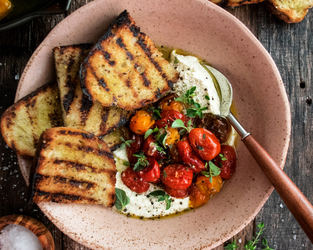 Whipped Feta With Roasted Tomatoes The Original Dish