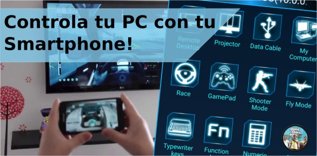 Controlar la PC con Monect PC Remote 4