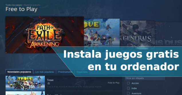 Steam - Juegos gratis para PC 1