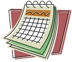 Calendar-clip art 235x200