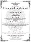Centennial Flyer test
