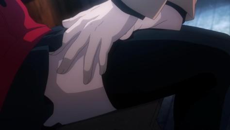 Get your hands off her!