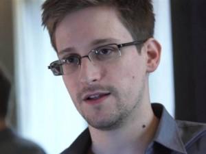 Former CIA/NSA contractor Edward Snowden