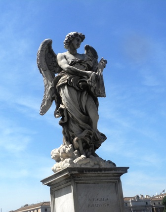 bernini angel on bridge