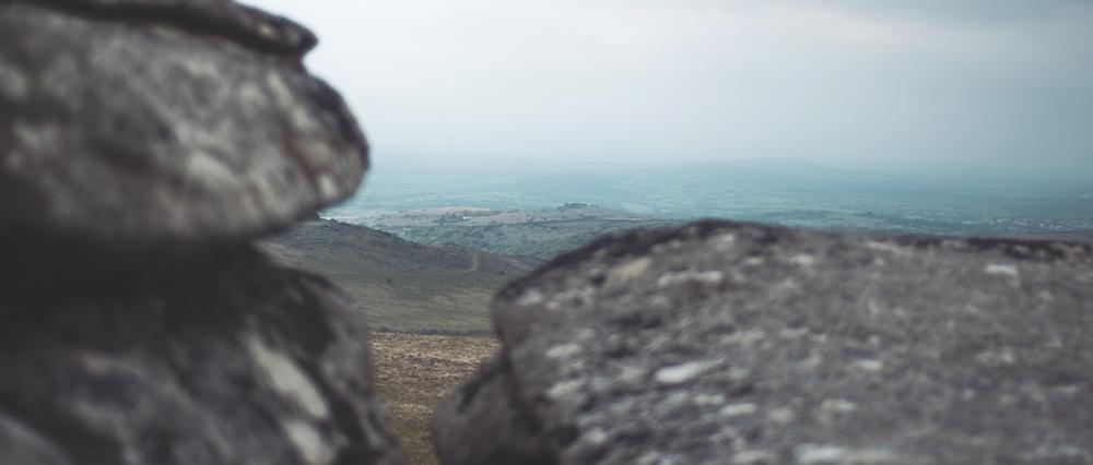 Wild Camping on Dartmoor - Rocky outlook