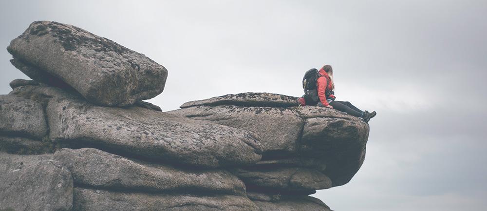 Wildcamping on Dartmoor | King's Tor climbing