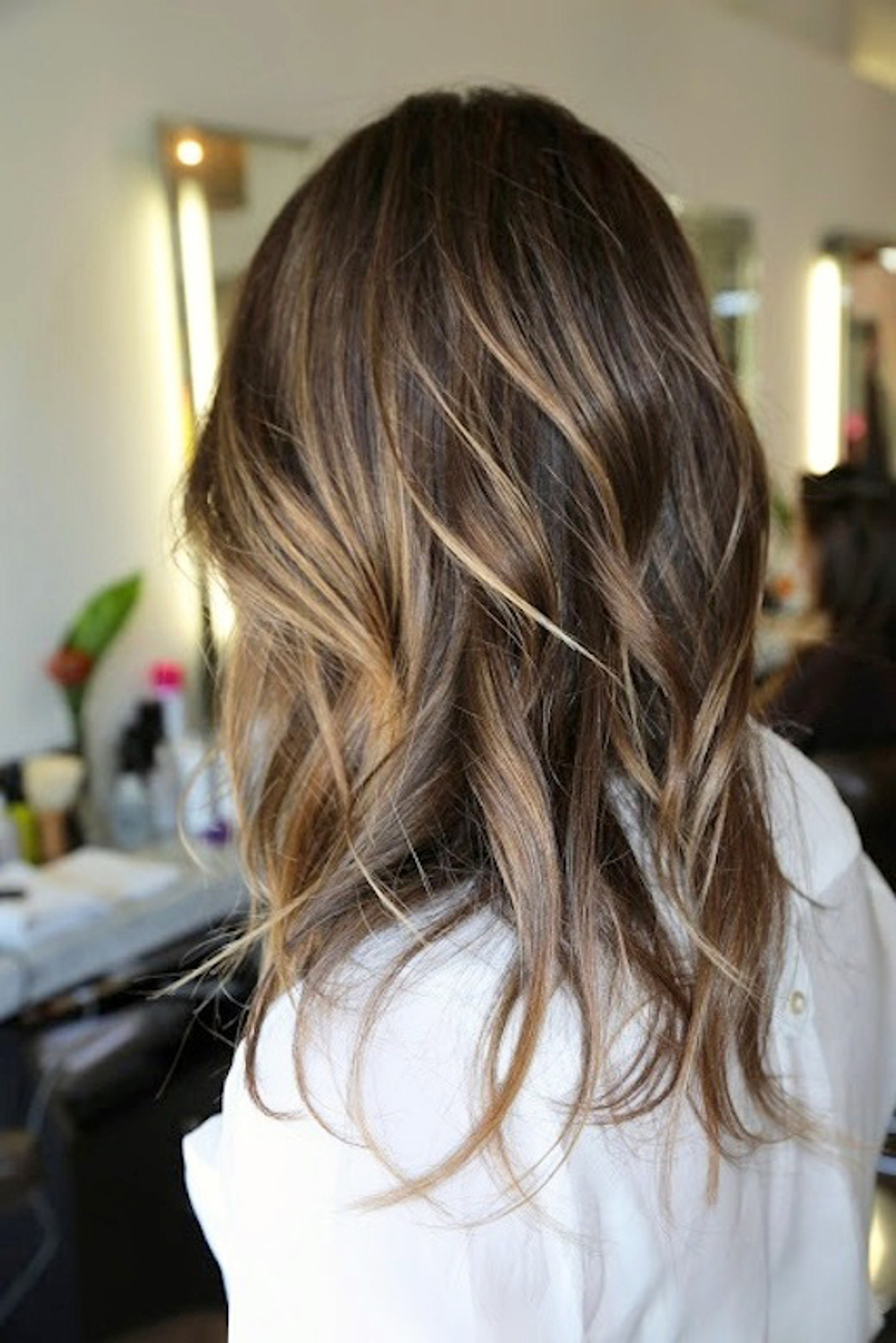 Brown Hair With Highlights Hair Inspiration The Overapp
