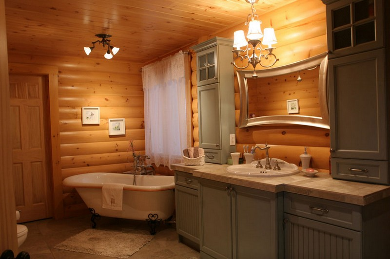 Badezimmer Ideen Holzfliesen Rustic Bathrooms | The Owner-builder Network