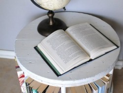 Diy Spool Bookcase The Owner Builder Network
