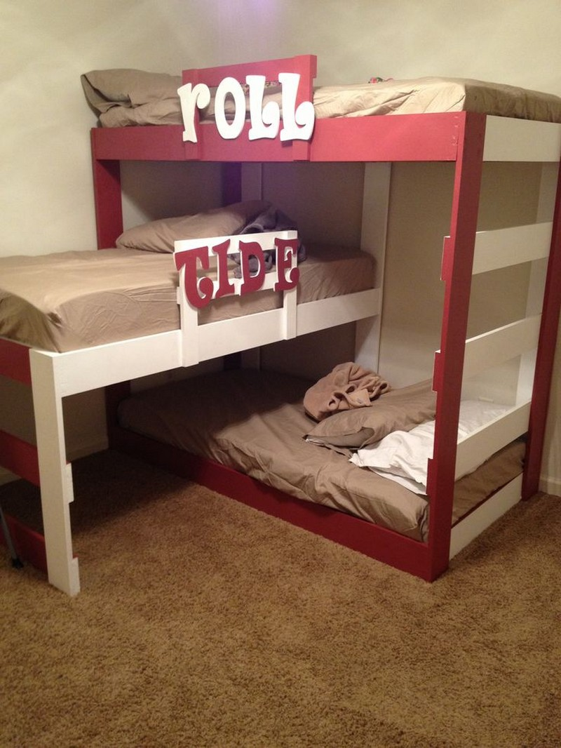 Fullsize Of Triple Bunk Bed