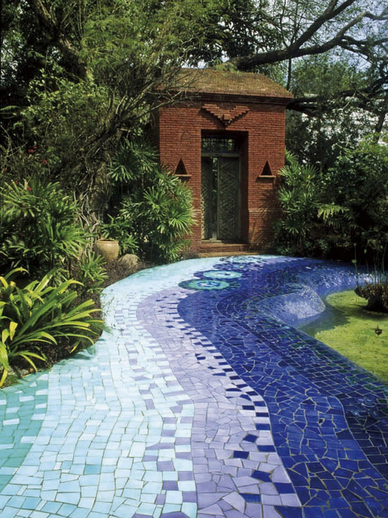 Eclairage Led De Jardin Mosaic Garden Path | The Owner-builder Network