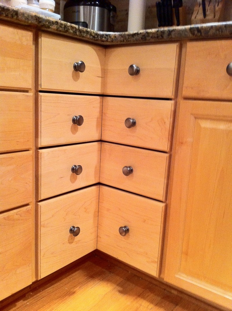 Cupboard Drawers Diy Corner Cabinet Drawers The Owner Builder Network
