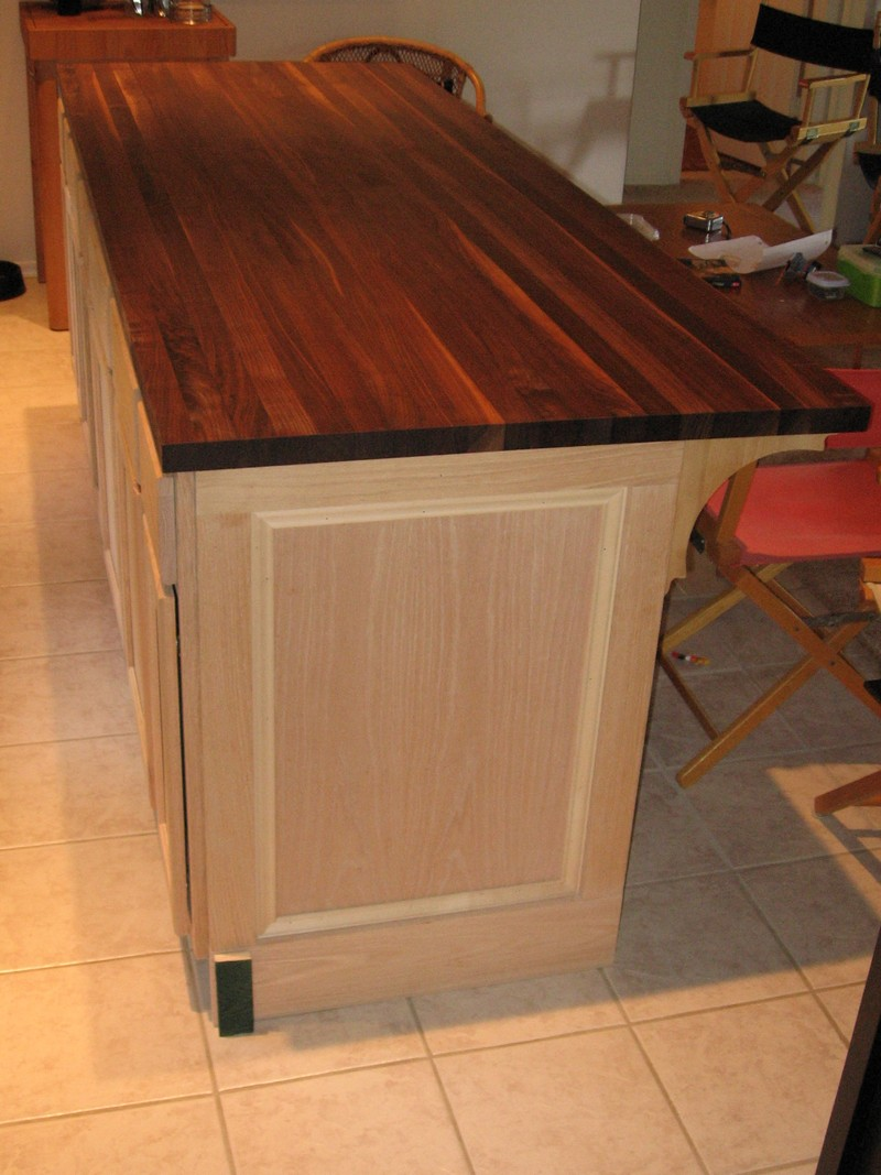 Stain Particle Board Kitchen Cabinets Diy Kitchen Island Cabinet – The Owner-builder Network