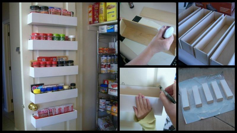 Diy Pantry Door Spice Racks The Owner Builder Network