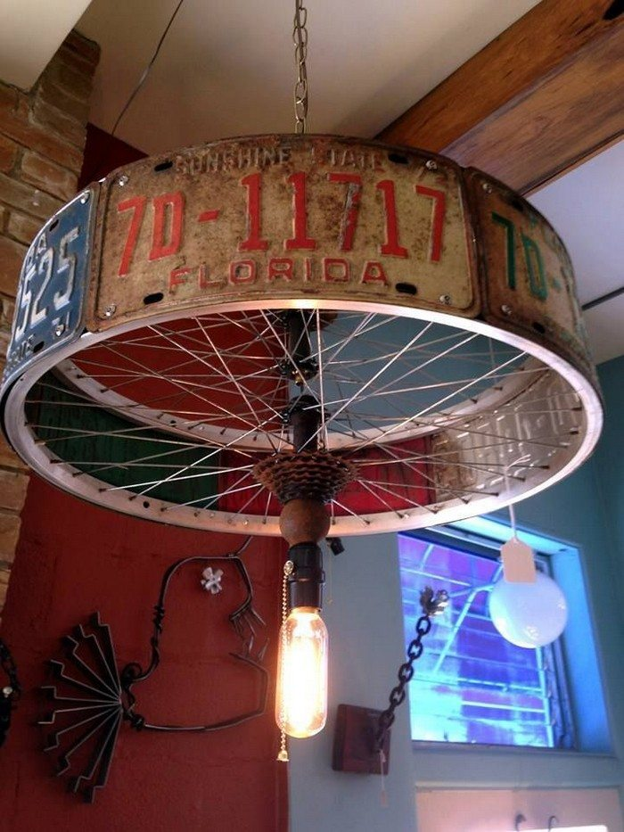 Design Möbel Shop Repurposed Bicycle Parts | The Owner-builder Network