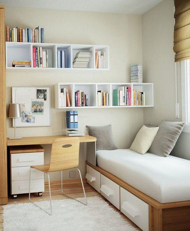 8 ideas maximizing small bedroom space saving