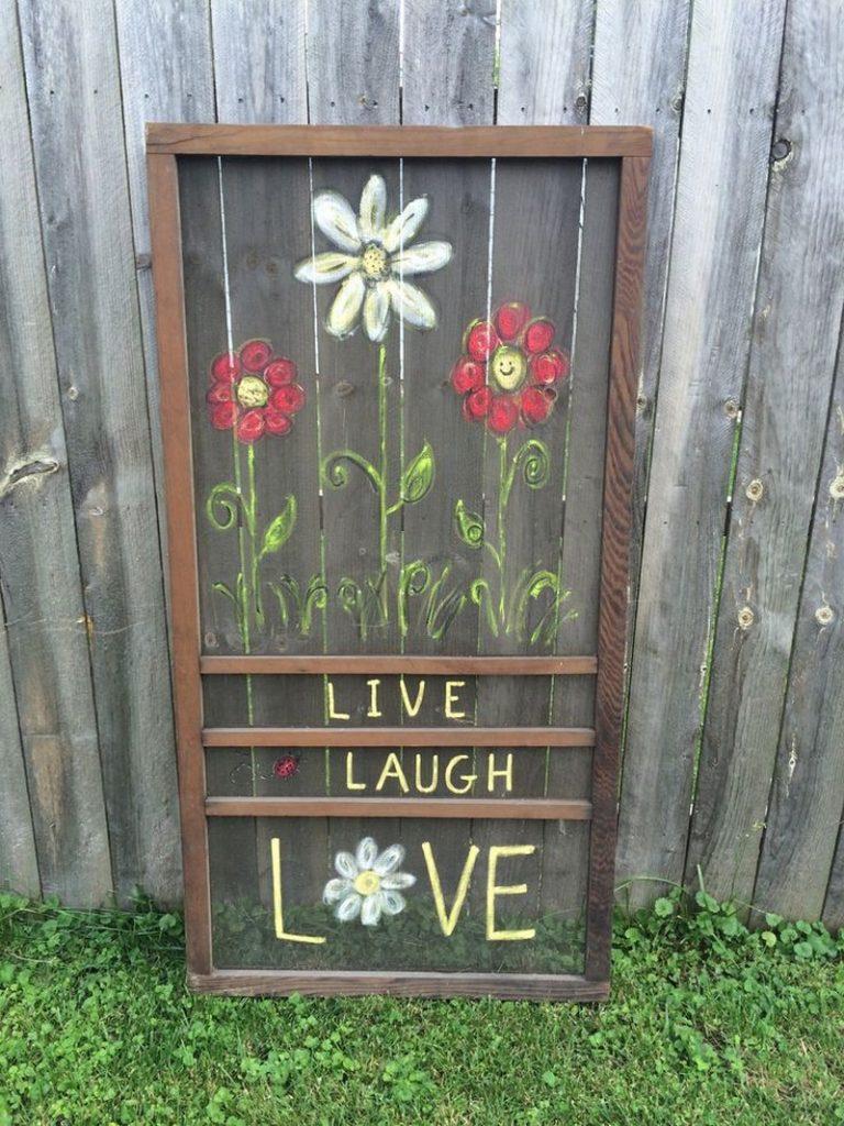 Clever old screen door ideas