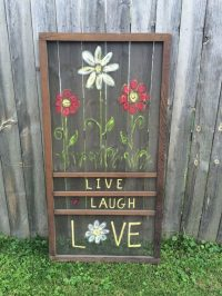 Clever old screen door ideas