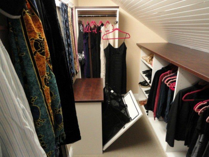 Clothing Storage Ideas For Small Bedrooms Clever Attic Storage Ideas – The Owner-builder Network