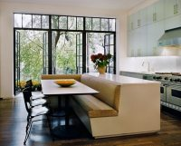 Kitchen island with built