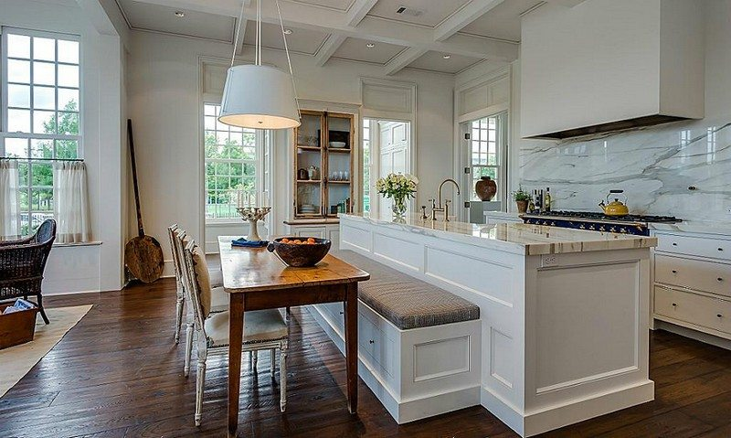 Alternative Kitchen Island Ideas Kitchen Island With Built-in Seating Inspiration | The