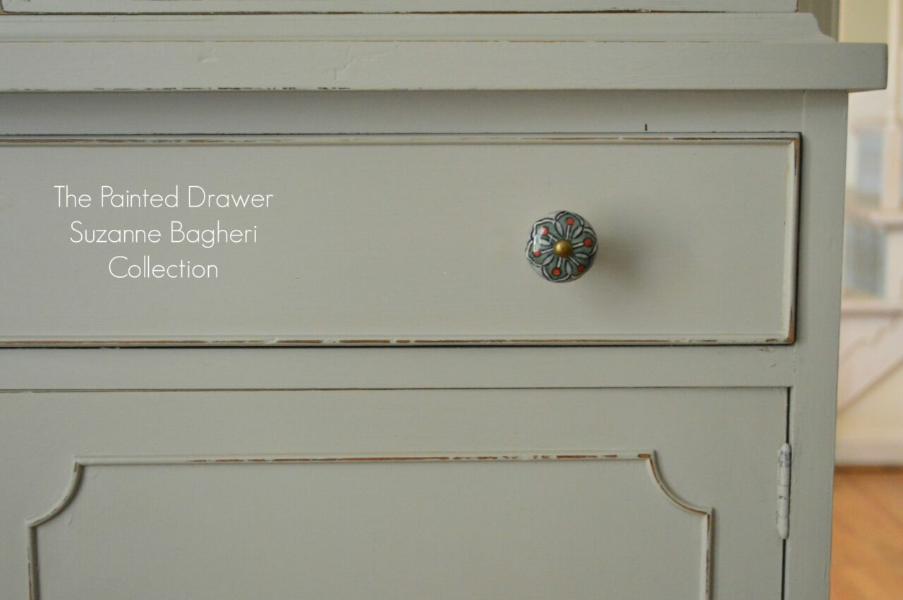 Farmhouse Bathroom Drawer Pulls The Farmhouse Cabinet In Greige And Persimmon Before And