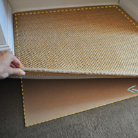 How To Keep a Rug in Place on Carpet | The Painted Hive