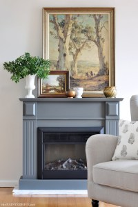 Easy DIY Marble Hearthand a fireplace makeover | The ...