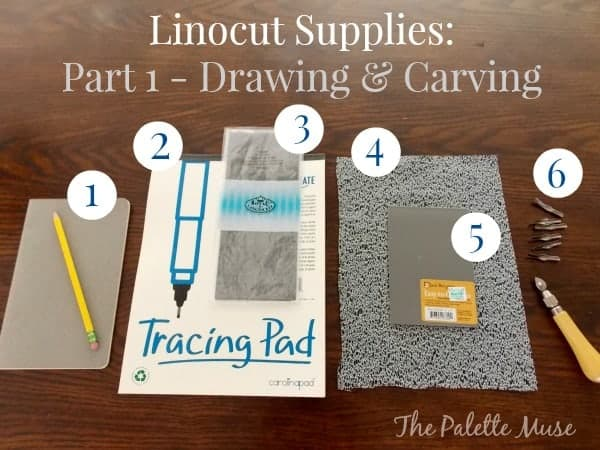 Block Printing Supplies Part 1