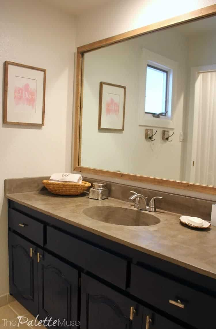 Making Your Own Concrete Countertop Diy Concrete Countertops Frequently Asked Questions The Palette Muse