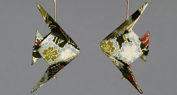 Fish Earrings The Paper Crane Origami