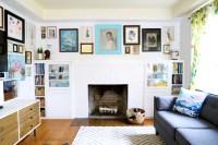 IKEA Hack: DIY Fireplace Built-ins - The Paper Mama
