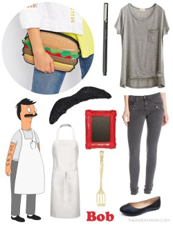 Small Of Tina Belcher Costume