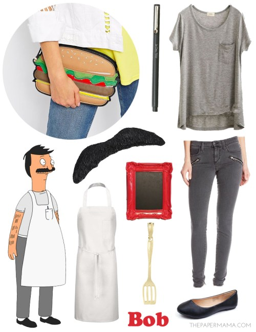 Medium Of Tina Belcher Costume