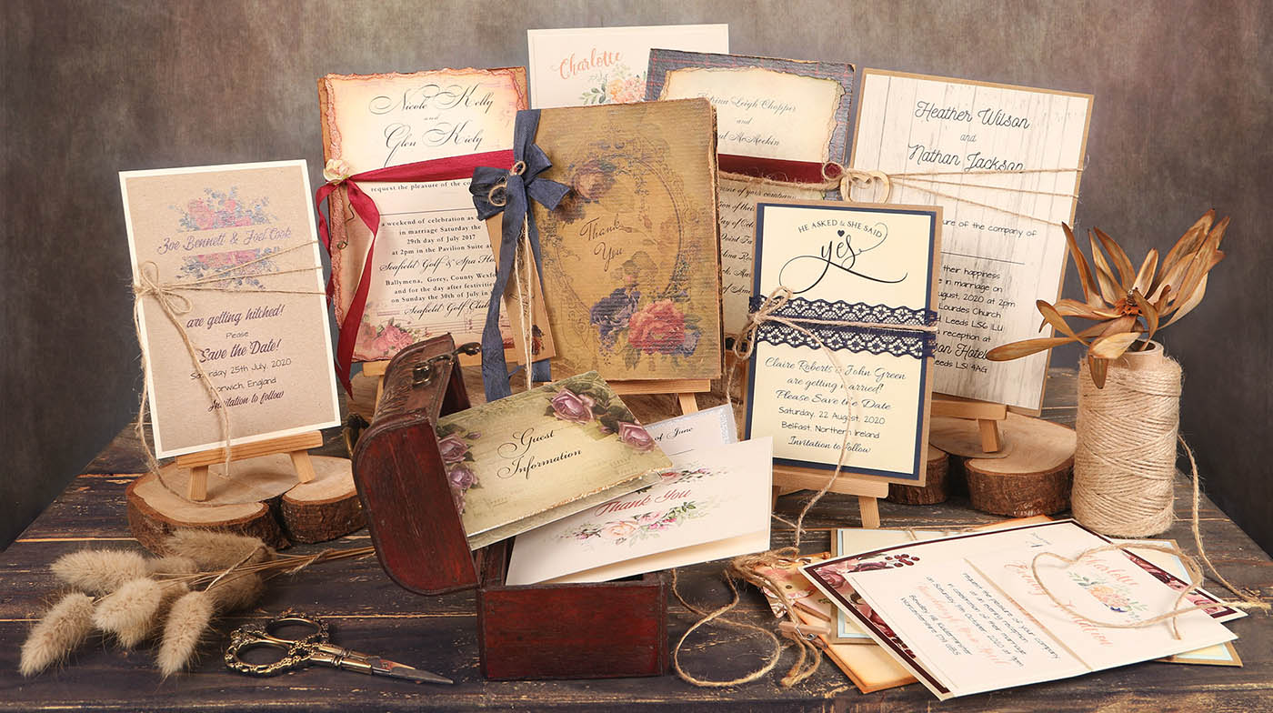 Diy Wedding Invitations With Photo Bespoke Diy Wedding Invites The Paper Shop