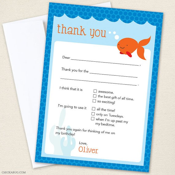 Party Manners How to Make Writing Thank You Notes Easy for Kids