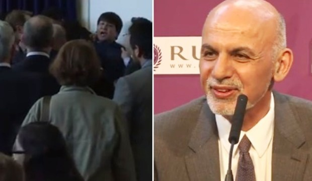 President-Ghani-speech-interrupted