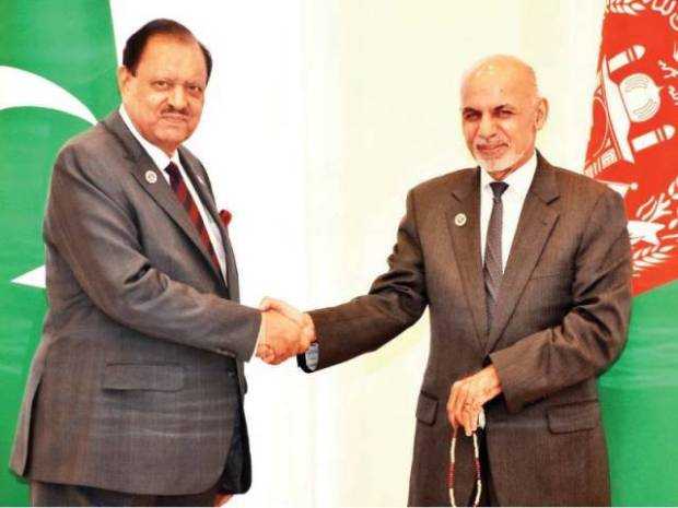 Ghani-meets-Pakistani-counterpart