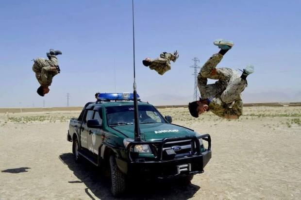Afghan-police-impressive-video