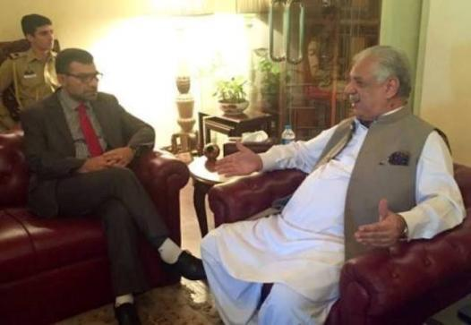 dr. poyan with Jhagra