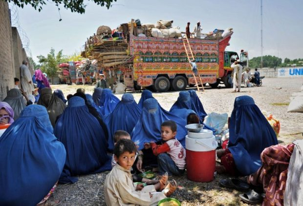 Afghan refugees editorial pic