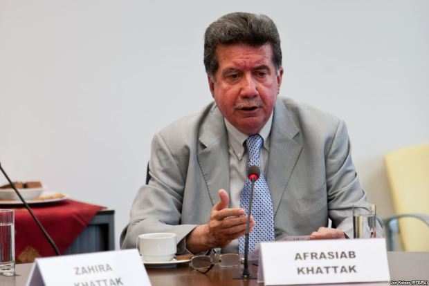 Afrasiab Khan Khattak: The writer is a regular contributor to THE PASHTUN TIMES. He is a retired senator and a leader of Awami National Party (ANP). He tweets @a_siab