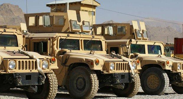 afghan-police-humvees