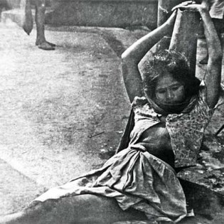 A rape victim. About 400000 women were raped by the Pakistani military during the Liberation War. Bangladesh. 1971.