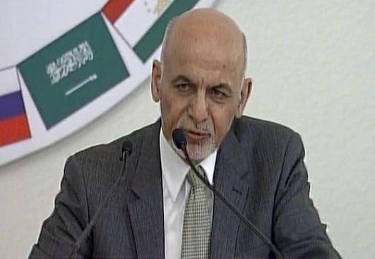 Ghani in KSA