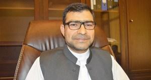 Karachi-based Afghanistan Consul General Dr. Abdullah Waheed Poyan  Photo: Aurangzeb Zalmay