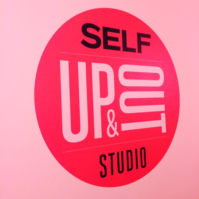 self up and out logo