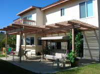 Open Patio Cover Extended span - The Patio Man