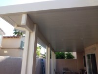 Insulated patio cover Alumawood fascia Anaheim - The Patio Man