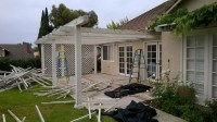 San Juan Capistrano Aluminum Patio Cover; Before and After ...